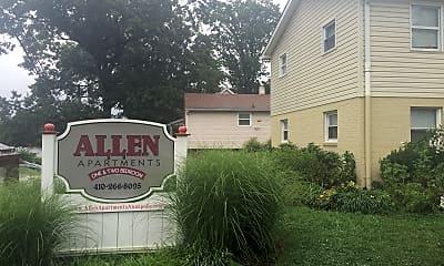 Allen Apartments, 1