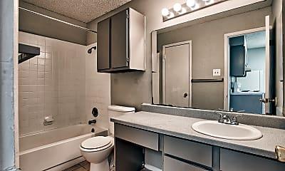 Bathroom, Bellevue at Windcrest Apartments, 2