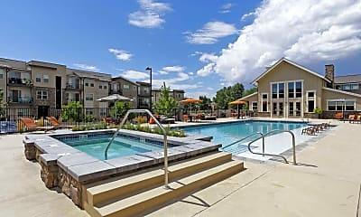 Pool, North Main Apartments at Steel Ranch, 0