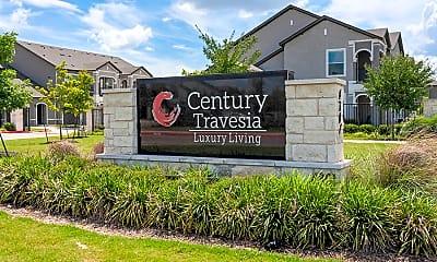 Community Signage, Century Travesia, 1