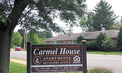 Carmel House Apartments, 1