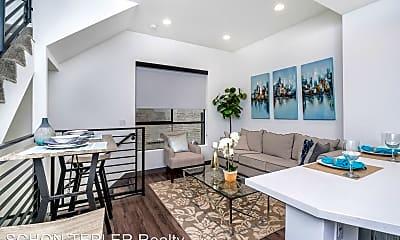 Living Room, 644 N. Normandie Ave - 10, 1
