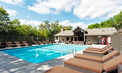 Pool, Woodlands Of Minnetonka Apartments, 2