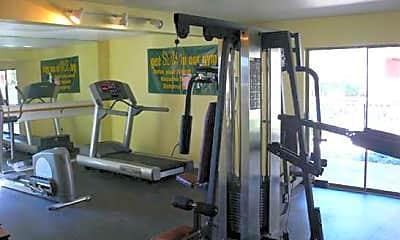 Fitness Weight Room, Villa Ana, 2