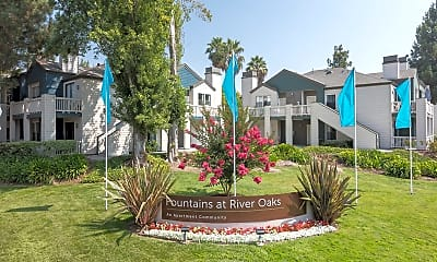 Community Signage, Fountains at River Oaks, 1