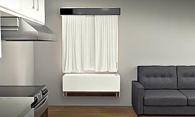 Living Room, 435 S 400 E, 1