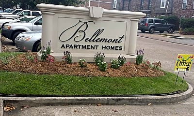 Community Signage, Bellemont Apartment Homes, 1