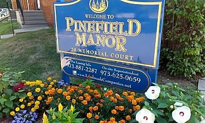 Community Signage, Pinefield Manor, 2