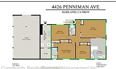 Bathroom, 4426 Penniman Ave, 2