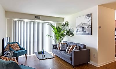Living Room, The Residences at Brookside, 1