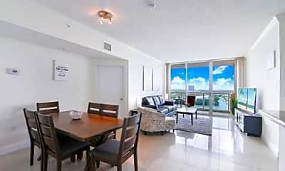 Dining Room, Bay/Ocean Views 1700 Bay Rd, 1