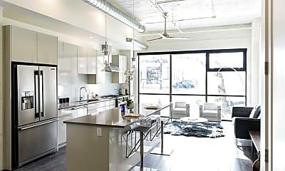 Kitchen, Paragon Station, 1