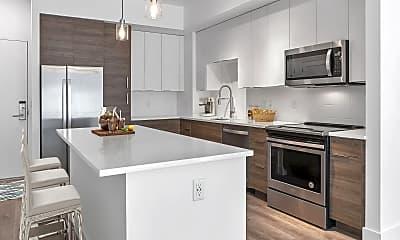Kitchen, 4 West Las Olas, 1
