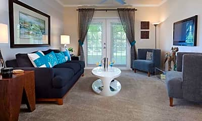 Living Room, Porter House Apartments, 2