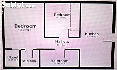 Bathroom, 2407 St Louis Dr, 2