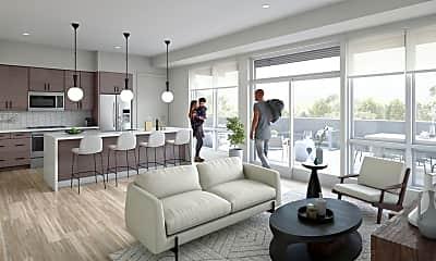 Living Room, 4040 W 31st St 341, 1