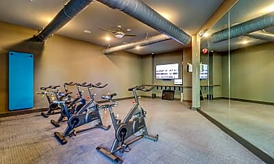 Fitness Weight Room, Sola Station, 2