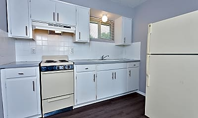 Kitchen, 2727 N Amidon Ave - Unit # 1011, 1
