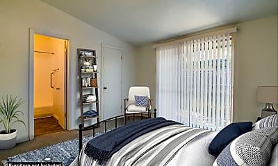 Bedroom, El Sereno Apartments, 1