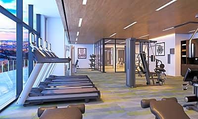 Fitness Weight Room, 110 George L Davis Blvd, 2