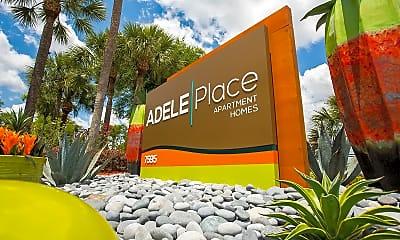Community Signage, Adele Place, 2