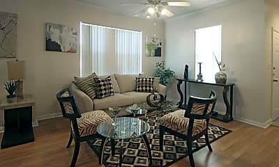 Living Room, Saddle Brook West Apartment Homes, 1