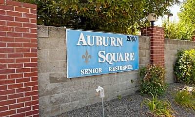 Community Signage, Auburn Square, 2