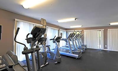 Fitness Weight Room, The Villages at West Laurel, 2