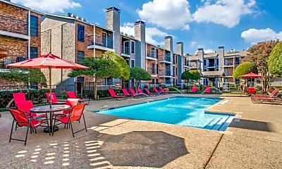 Pool, Belterra Apartments, 2