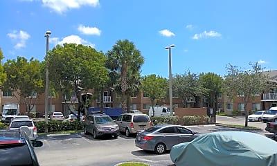 Douglas Point Apartments Gate, 2