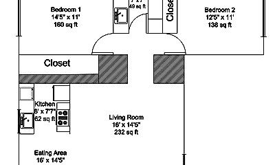 Building, 2961 N Orange Olive Rd, 1