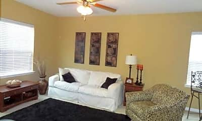 Living Room, Litchfield Place Apartments, 1