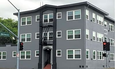 Building, 1201 B St, 1