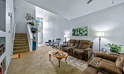 Living Room, 6074 Halloran Lane, 2