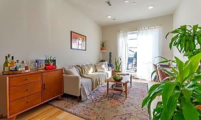 Living Room, 627 E Girard Ave D2, 0
