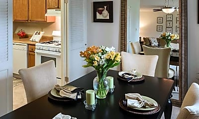 Dining Room, Bay Hills Apartments, 2