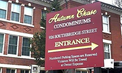 Community Signage, 926 Southbridge St, 2