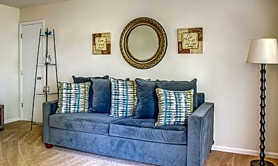 Living Room, Ocean Gate Apartments, 1