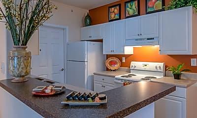 Kitchen, Bridgewater Apartment Homes, 1