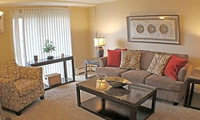 Living Room, Rockside Place Apartments, 1