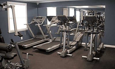 Fitness Weight Room, Pine Crest, 1