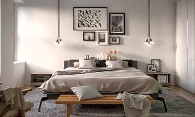 Bedroom, 360 W 34th St 12-J, 1