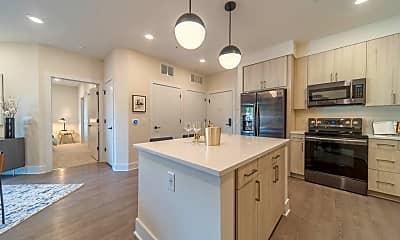 Kitchen, UHill Apartments, 1