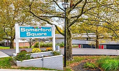 Community Signage, Somerford Square, 2