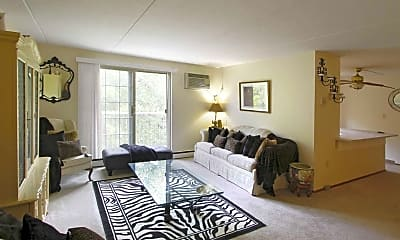 Living Room, Royal Garden Apartments, 1