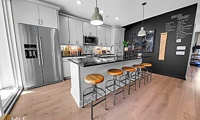 Kitchen, 371 Pratt Dr 208, 1