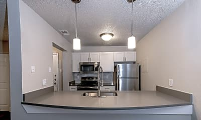 Kitchen, The Halston, 1