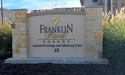 Franklin Park Boerne, 1