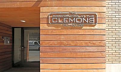 Community Signage, The Clemons Lofts, 2