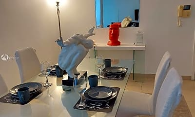 Dining Room, 6767 Indian Creek Dr 2C, 1
